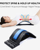 Image of Back Massage Magic Stretcher Waist Acupuncture Body Lumbar