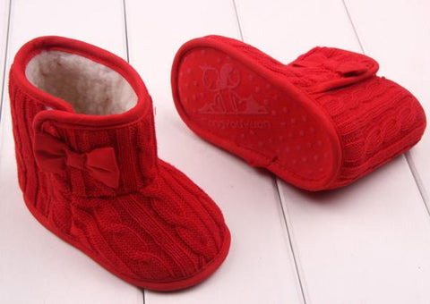 Bowknot Winter Warm Boots