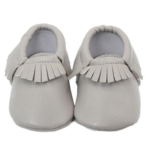 Tassels PU Leather Moccasin