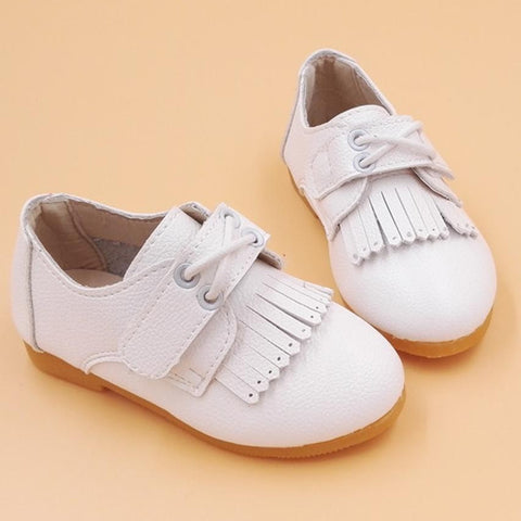 Casual Leather Tassel Shoes