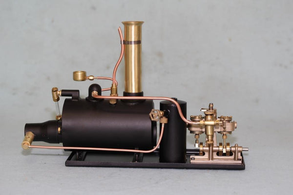 "4050 3"" Horizontal Boiler/Clyde Steam Plant- Assembled"