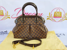 Load image into Gallery viewer, Authentic Louis Vuitton Trevi pm Damier Ebene