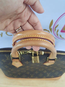 Authentic Louis Vuitton Alma Monogram pawn online