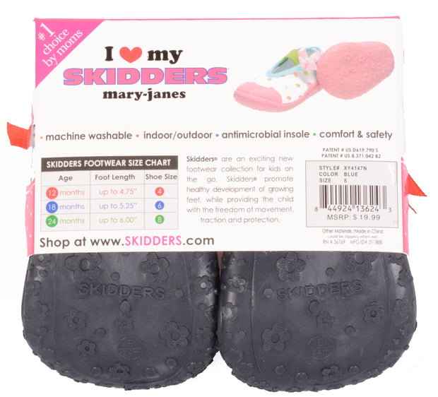 Skidders Baby Toddler Girls Mary Jane Shoes Style #XY4147N - Skidders.com