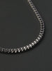 Stainless Steel Small Box Chain Necklace for Men