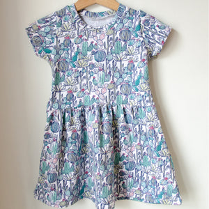 Cactus Twirl Dress Baby Toddler
