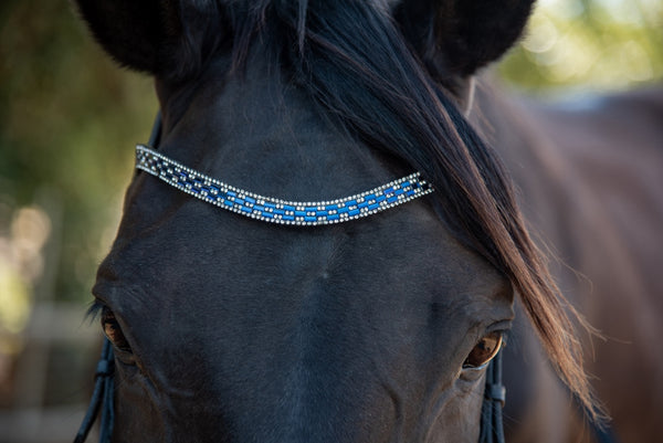 ST-BBD/003 Black Leather Browband