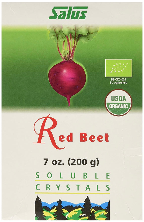 Salus Red Beet Soluble Crystals, 7-Ounce