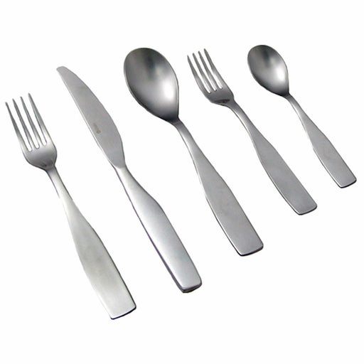 iittala Citterio 98 5 Piece Place Setting in Brushed Stainless Steel