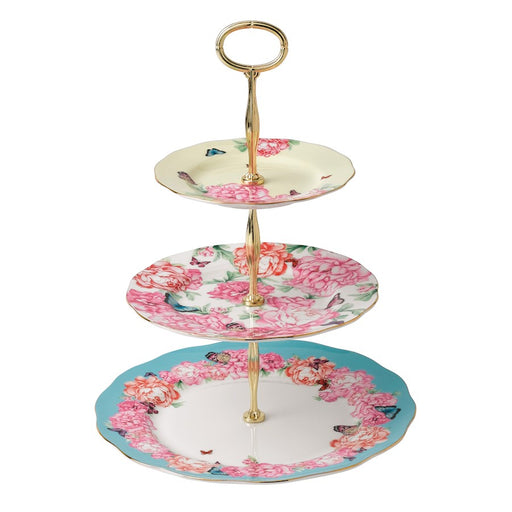 Miranda Kerr for Royal Albert Mixed Accents 3-Tier Cake Stand