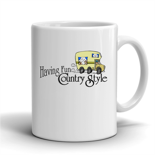 Having Fun Country Style / Coffee Mug