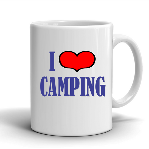 I Love Camping /Coffee Mug