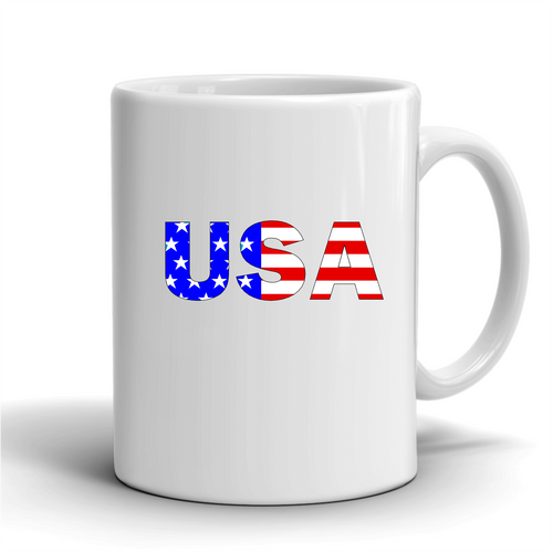 USA / Coffee Mug Right Handle
