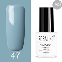 Load image into Gallery viewer, ROSALIND rainbow colored Gel Polish