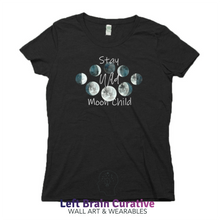 "Load image into Gallery viewer, Women's RPET ""Stay Wild"" Organic Short Sleeve T-Shirt"