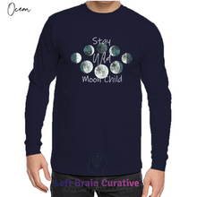 "Load image into Gallery viewer, Unisex Organic Long Sleeve ""Stay Wild"" T-Shirt"