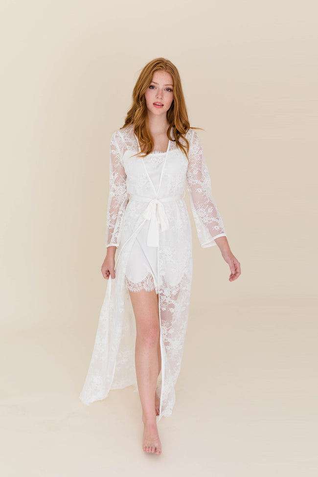 My Bride To Be Lace Robe