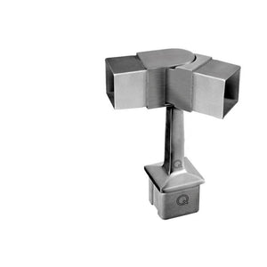 Square Line 0-70 Degree Adjustable Top Post Bracket (Outdoor)