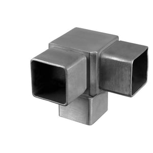 Square Line 3-Way 90 Degree Post Connector (Outdoor)
