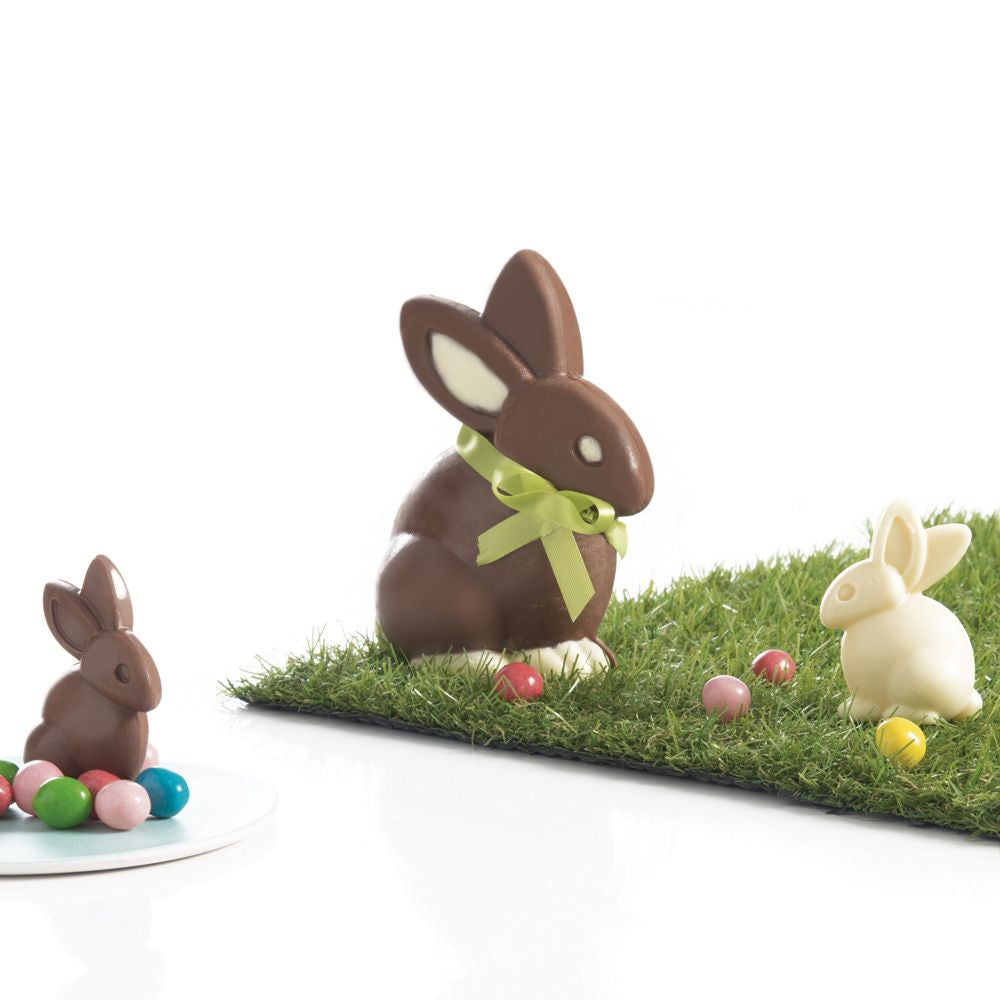 6 Chocolate Moulds - Bunny Shape