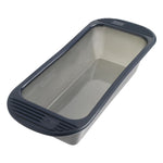 Silicone Loaf Baking Pan - Grey Translucent