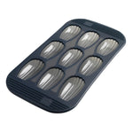 9 Silicone Madeleine Baking Pan - Grey Translucent
