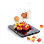 Electronic Glass Kitchen Scales - Black