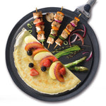 Non-Stick Hot Plate + Crepe Spreader and Recipe Booklet
