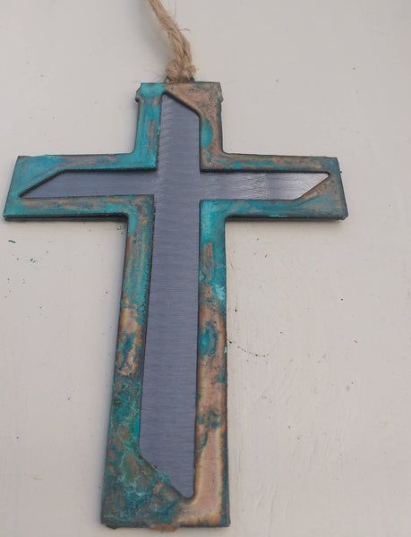 Modern Cross Ornament
