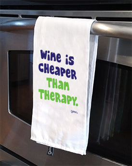 Therapy Tea Towel
