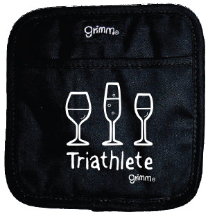 Triathlete (Wine) Pot Holder