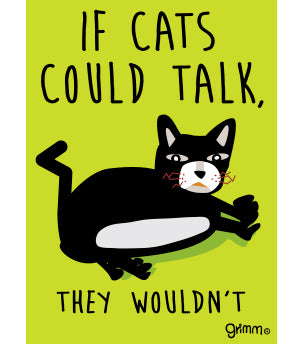 Zoe If Cats Could Talk Magnet