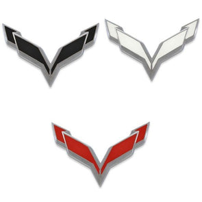 C7 Corvette | Emblem Blackout Set | Vinyl | Front & Rear - [Corvette Store Online]