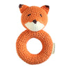 Fox Ring Hand Crocheted Rattle