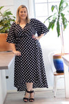 Aussie Curve Wrap Dress - Scarlett