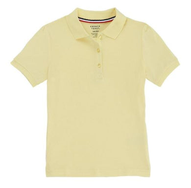 GIRLS SHORT SLEEVE STRETCH POLO