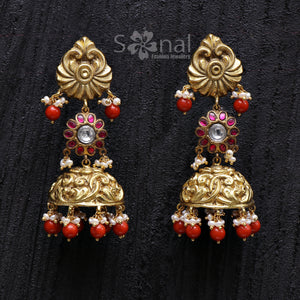 Navaratan Necklace Set - 585