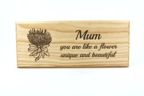 Personalised handmade wooden sign for mum -plaque - FREE SHIPPING WITHIN AUSTRALIA