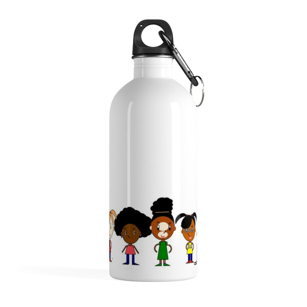 Black Girl Magic in Every Shade Stainless Steel Water Bottle