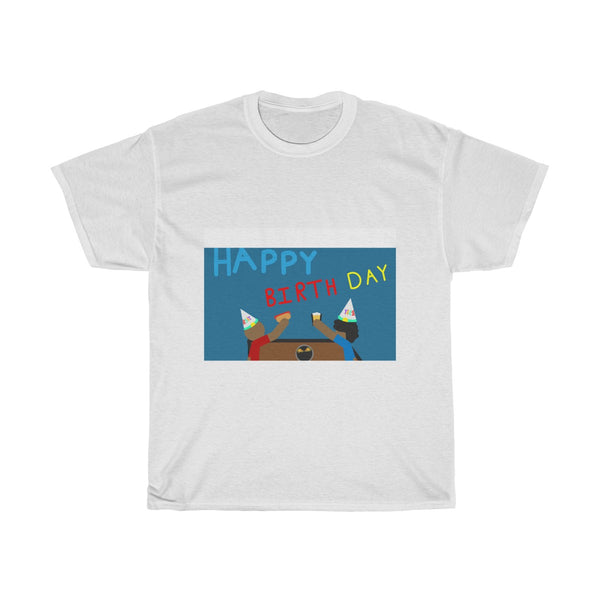Unisex Heavy Cotton Birthday Tee