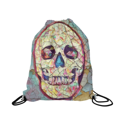 Drawstring Bag-Skull Candy Design-Design yours online