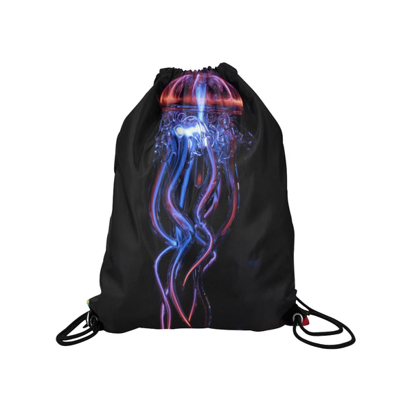 Drawstring Bag featuring Jelly Fish Design