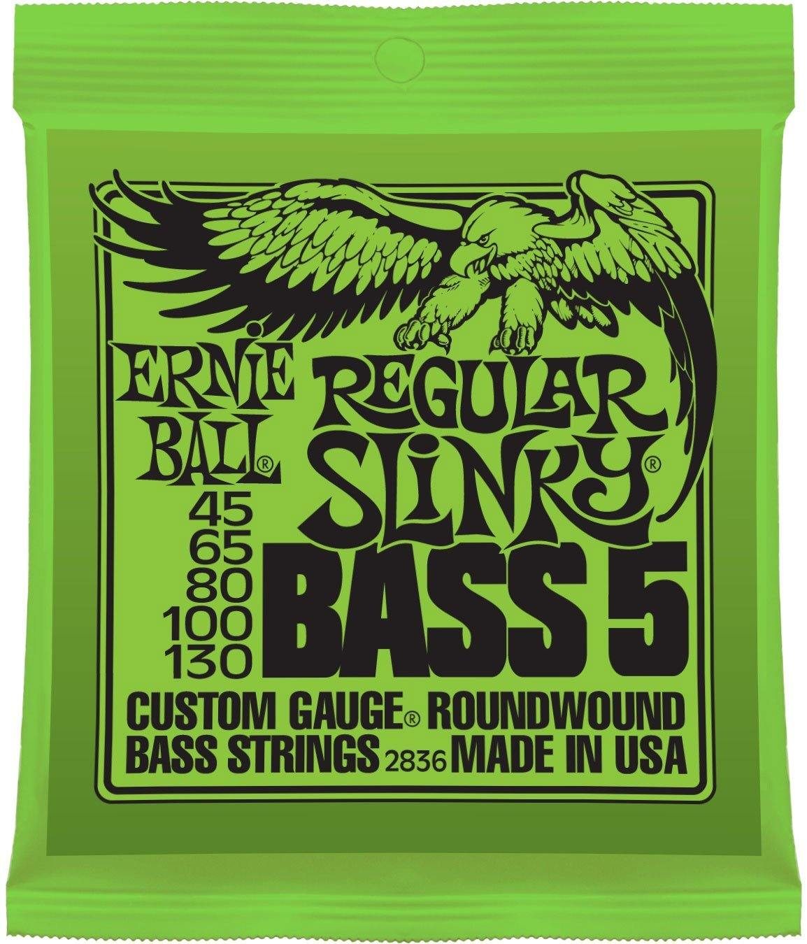 Ernie Ball - 2836 Regular Slinky 5-String Bass Set