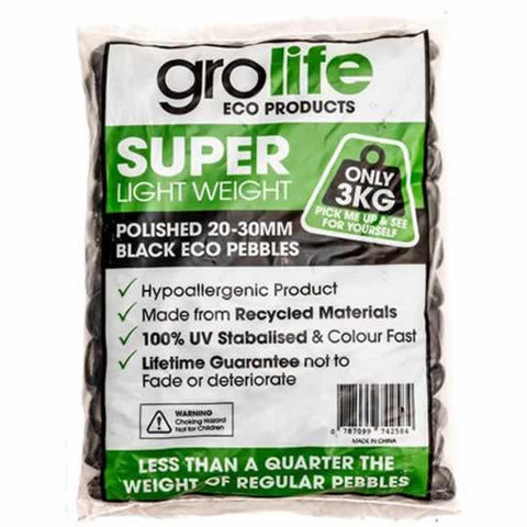 Image of Grolife Eco Pebbles - Grey - Pallet (210)