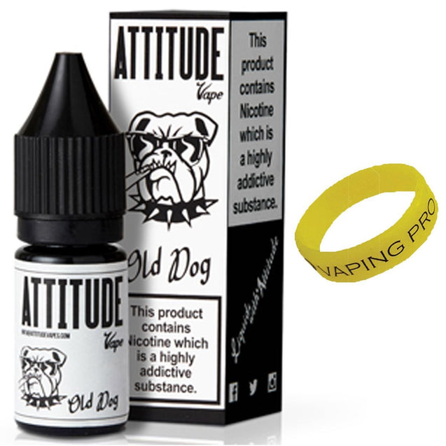 Attitude 10ml Old Dog 12mg Eliquid