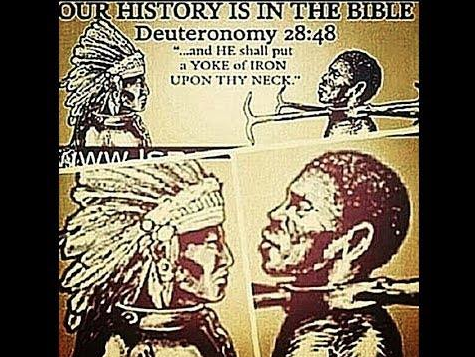 our history is in the bible slave trade Deuteronomy 28:48