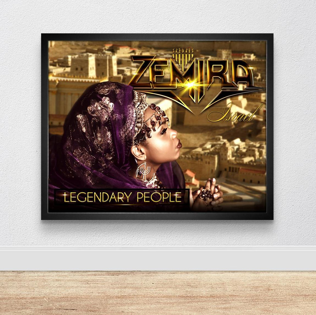 Legendary People Poster  24x18