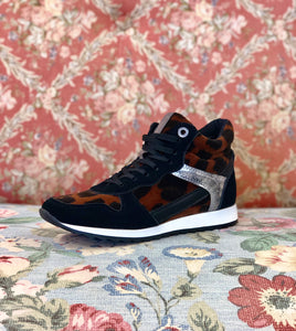 Leopard Pantheon Tennis Shoe