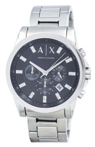 Armani Exchange Chronograph Crystals Grey Dial AX2092 Men's Watch, best prices, cheapest, discount, new, Cruze Watches
