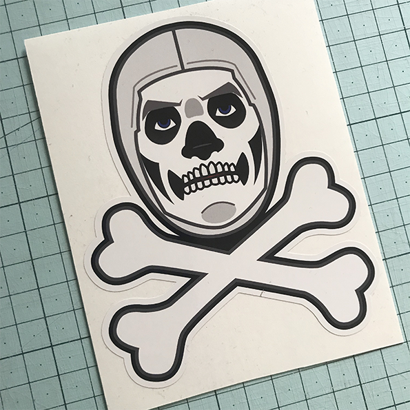 Skull Trooper Sticker